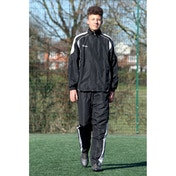 Precision Ultimate Tracksuit Trousers Black/Silver/White 42-44