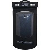 Overboard Waterproof Large Phone Case Black