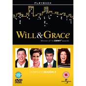 Will & Grace Season 4 DVD