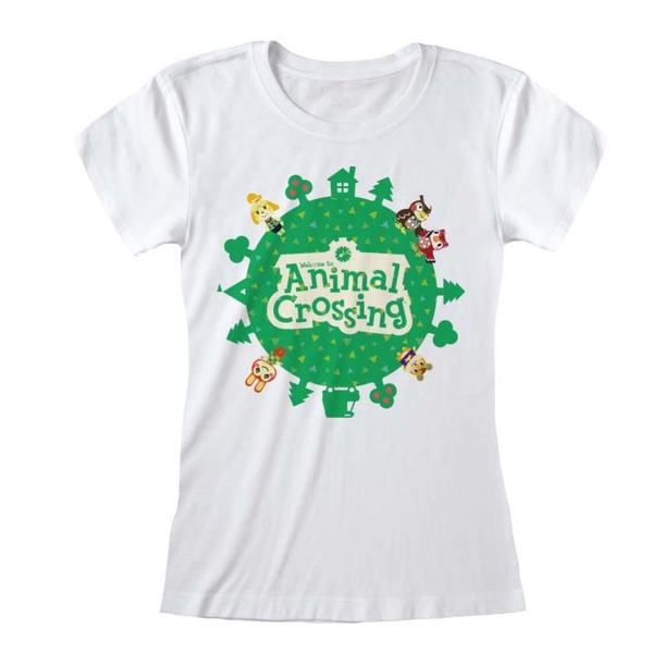 Animal Crossing - Logo Women's Small T-Shirt - White