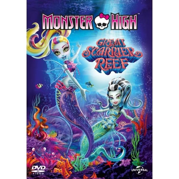 Monster High: Great Scarrier Reef 2015 DVD