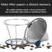 Pour Over Coffee Reusable Dripper Filter | Stainless Steel | M&W - Image 2