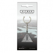 Hitman Metal ICA Key Ring