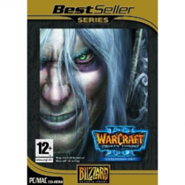 Warcraft III 3 Frozen Throne Expansion Pack Game PC