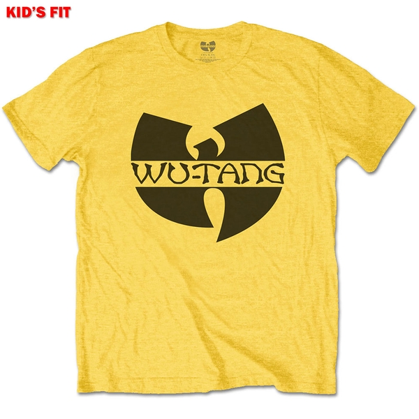 Wu-Tang Clan - Logo Kids 7 - 8 Years T-Shirt - Yellow