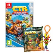 Crash Team Racing Nitro Fueled Nintendo Switch Game + Back Pack Hanger (Inc DLC)