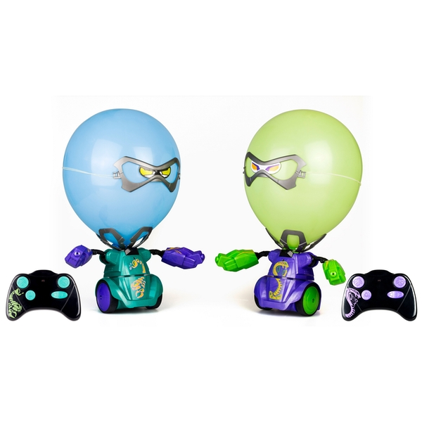 Silverlit  Balloon Puncher Twin Pack  Purple/Green (88040)