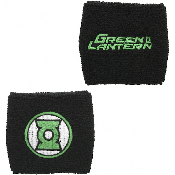 Green Lantern - Green Lantern Text And Logo Wristband