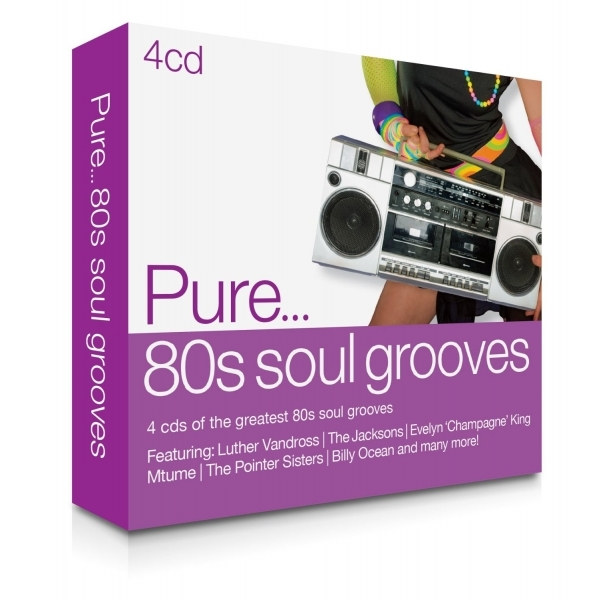 Pure... '80s Soul Grooves Box Set 4CD