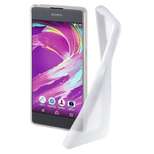 "Hama ""Crystal Clear"" cover for the Sony Xperia L1, transparent"