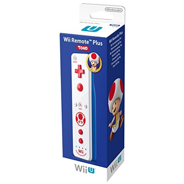 Official Nintendo Wii Remote Plus Toad Edition Wii U