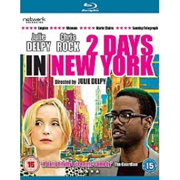 Two Days In New York Blu-ray