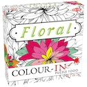 Colour in Floral 1000 Piece Jigsaw Puzzle