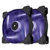 Corsair Air Series SP140 High Static Pressure Fan (140mm) with Purple LED (Twin Pack)