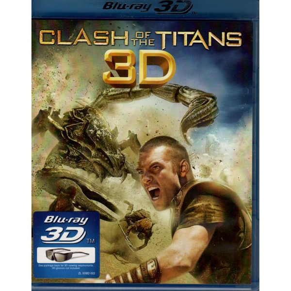 Clash of the Titans (2010) Blu-ray 3D