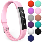 Yousave Fitbit Alta / Alta HR Strap Single Large - Blush Pink