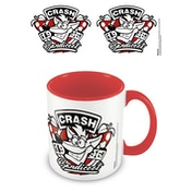 Crash Bandicoot - 1996 Emblem Red Mug