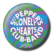 Lyrics by Lennon & McCartney - Sgt. Pepper Psychedelic Badge