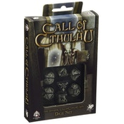 Q-Workshop Call of Cthulhu Black & Glow in the Dark Dice Set