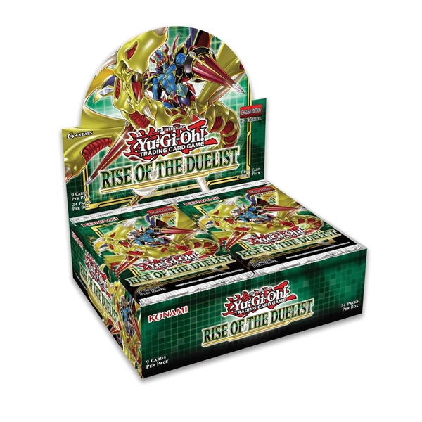 Yu-Gi-Oh! TCG Rise of the Duelist Booster Box (24 Packs)