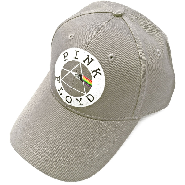 Pink Floyd - Circle Logo Men's Baseball Cap - Sand
