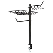 Xavax Grill Organizer, height-adjustable 60 - 72 cm, black