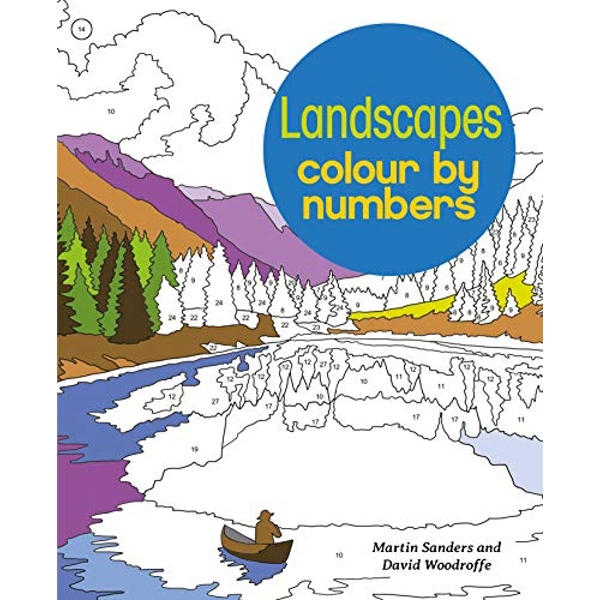 Landscapes Colour by Numbers  Paperback / softback 2018