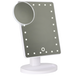 LED Light Up Illuminated Make Up Bathroom Mirror With Magnifier   M&W White New - Image 2