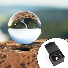 M&W K9 Clear Crystal Ball For Photography 80mm