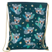 Lemur Drawstring Bag