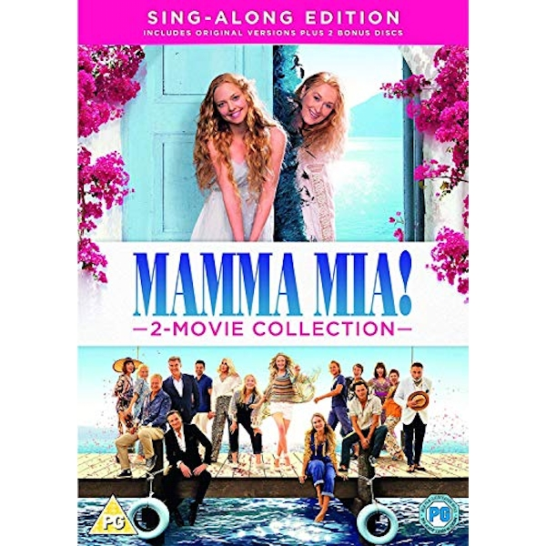 Mamma Mia: 2 Movie Collection DVD