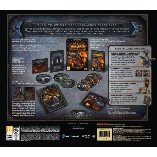 World of Warcraft Warlords of Draenor Collector's Edition Expansion PC Game - Image 5