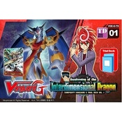 Cardfight Vanguard TCG Awakening of the Interdimensional Dragon G-TD01 Trial Deck