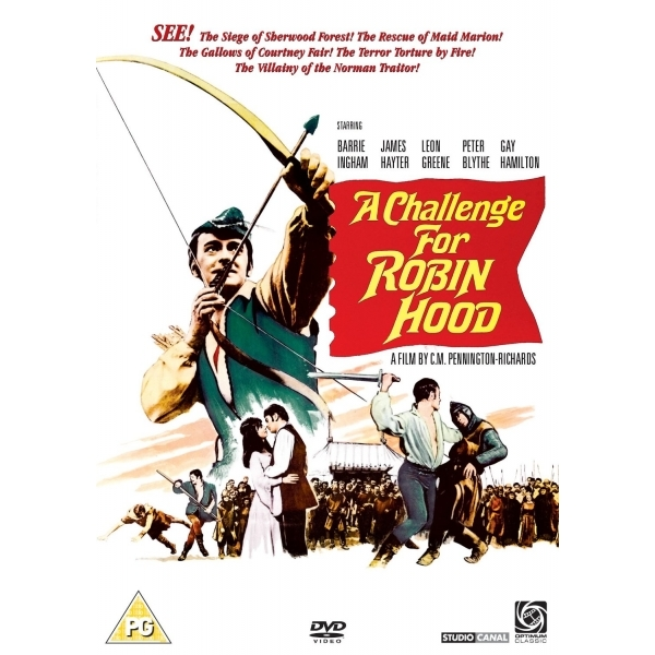 Image of A Challenge For Robin Hood DVD