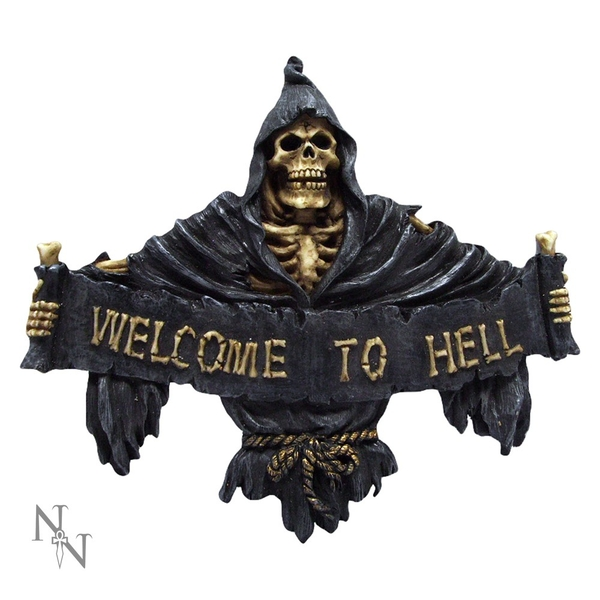 Welcome To Hell Sign
