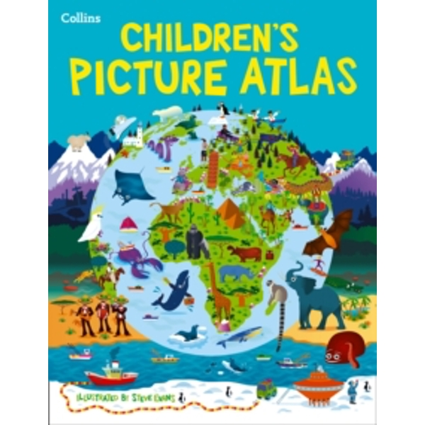 Collins Children's Picture Atlas by Collins Maps (Hardback, 2015)
