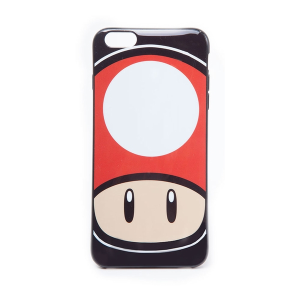 Nintendo - Toad Mushroom Face Apple Iphone 6 Plus Phone Cover