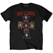 Guns N' Roses - Vintage Cross Men's X-Large T-Shirt - Black