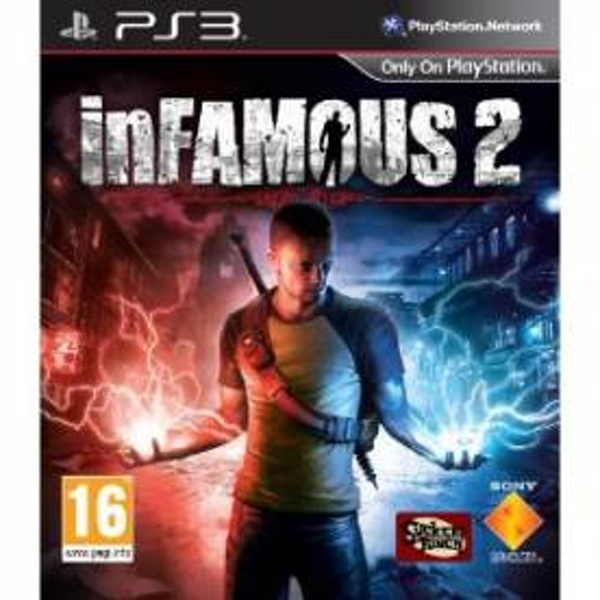 inFamous 2 Game PS3