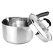 Stainless Steel Saucepans - Set of 3 | M&W - Image 5