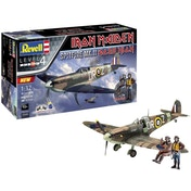 Spitfire Mk.II Iron Maiden Aces High 1:32 Level 4 Revell Model Kit Gift Set