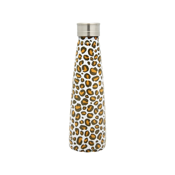 Sass & Belle Leopard Love Stainless Steel Water Bottle