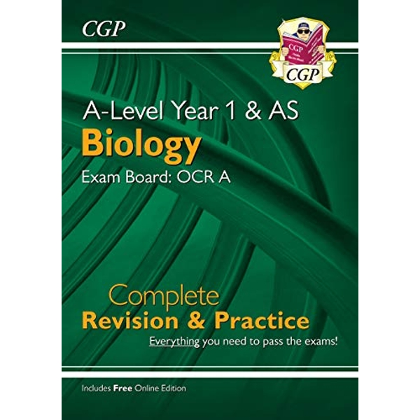 New A-Level Biology: OCR A Year 1 & AS Complete Revision & Practice with Online Edition  Paperback / softback 2018