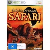 Cabelas African SAFARI Game Xbox 360