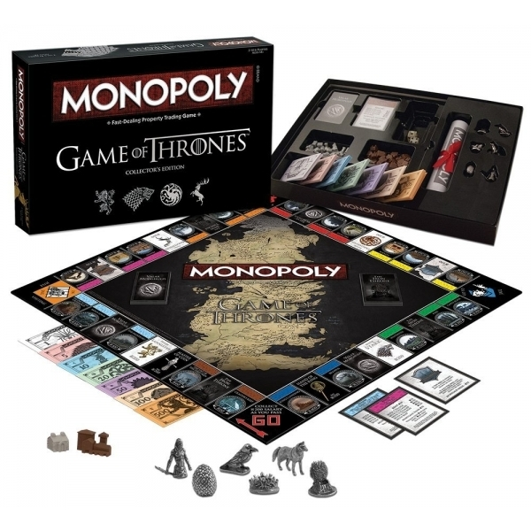 Ex-Display Game Of Thrones Monopoly Collector's Edition Used - Like New - Image 2