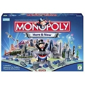 Ex-Display Monopoly Here & Now Board Game Used - Like New