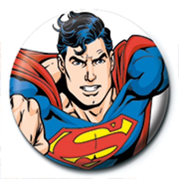 Superman - Flying Badge