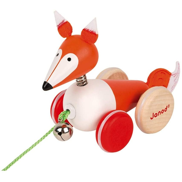 Janod Wooden Pull-Along Fox