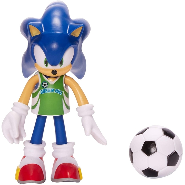 Sonic With Soccer Ball (Sonic The Hedgehog) 4 Inch Action Figure