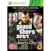 Grand Theft Auto IV 4 GTA Complete Edition Game Xbox 360